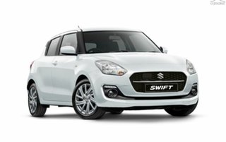 2020 Suzuki Swift AZ Series II GL Navigator Plus Pure White Pearl 1 Speed Constant Variable.