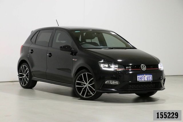 Used Volkswagen Polo 6R MY17 GTi Bentley, 2017 Volkswagen Polo 6R MY17 GTi Black 7 Speed Auto Direct Shift Hatchback
