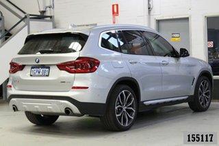 2018 BMW X3 G01 xDrive30I Silver 8 Speed Automatic Wagon