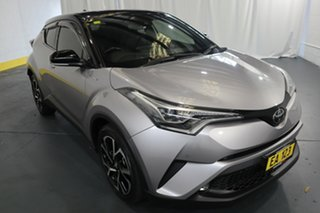 2019 Toyota C-HR NGX10R Standard (2WD) Silver Continuous Variable Hatchback.
