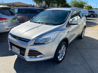 2016 Ford Kuga TF MY16.5 Trend PwrShift AWD Silver 6 Speed Sports Automatic Dual Clutch Wagon