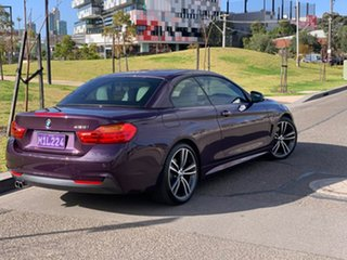2016 BMW 4 Series F33 428i M Sport Purple 8 Speed Sports Automatic Convertible