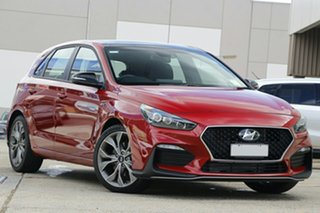 2021 Hyundai i30 PD.V4 MY21 N Line D-CT Premium Red 7 Speed Sports Automatic Dual Clutch Hatchback.