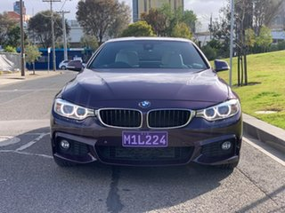 2016 BMW 4 Series F33 428i M Sport Purple 8 Speed Sports Automatic Convertible.