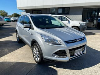 2016 Ford Kuga TF MY16.5 Trend PwrShift AWD Silver 6 Speed Sports Automatic Dual Clutch Wagon.