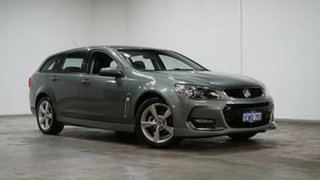 2016 Holden Commodore VF II MY16 SV6 Sportwagon Grey 6 Speed Sports Automatic Wagon.