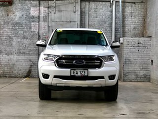 2019 Ford Ranger PX MkIII 2019.00MY XLT White 10 Speed Sports Automatic Double Cab Pick Up.