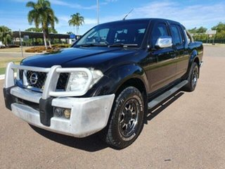 2008 Nissan Navara D40 ST-X Black 6 Speed Manual Utility