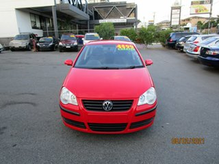 2008 Volkswagen Polo 9N MY08 Upgrade Pacific Red 5 Speed Manual Hatchback.