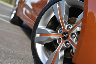 2013 Hyundai Veloster FS2 Coupe Orange 6 Speed Manual Hatchback
