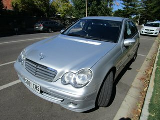 2005 Mercedes-Benz C180 W203 Upgrade Kompressor Classic Silver 5 Speed Auto Tipshift Sedan