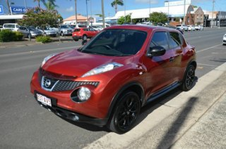 2013 Nissan Juke F15 TI-S (AWD) Red Continuous Variable Wagon