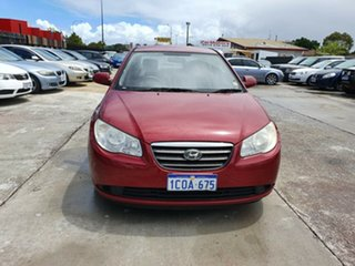 2007 Hyundai Elantra Red.