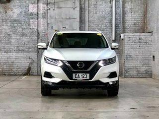 2019 Nissan Qashqai J11 Series 3 MY20 ST-L X-tronic White 1 Speed Constant Variable Wagon.