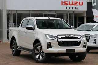 2020 Isuzu D-MAX RG MY21 LS-U Crew Cab Mineral White 6 Speed Sports Automatic Utility.