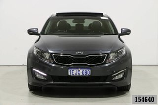 2013 Kia Optima TF MY13 Platinum Grey 6 Speed Automatic Sedan.