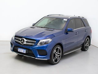 2017 Mercedes-Benz GLE350d 4Matic 166 MY17 Blue 9 Speed Automatic Wagon