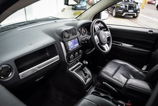 2016 Jeep Compass MK MY16 Limited CVT Auto Stick Silver 6 Speed Constant Variable Wagon