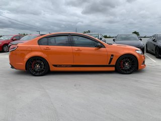 2013 Holden Special Vehicles ClubSport Gen-F MY14 R8 Orange 6 Speed Manual Sedan.