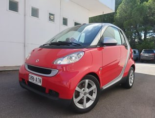 2009 Smart ForTwo 451 MY09 pulse Softip Red 5 Speed Seq Manual Auto-Clutch Cabriolet.
