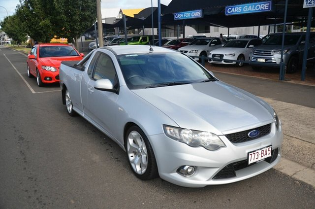 Used Ford Falcon FG XR6T Toowoomba, 2008 Ford Falcon FG XR6T Silver 6 Speed Manual Utility