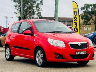 2010 Holden Barina TK MY10 Red 5 Speed Manual Hatchback