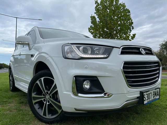 Used Holden Captiva CG MY17 LTZ AWD Hindmarsh, 2016 Holden Captiva CG MY17 LTZ AWD White 6 Speed Sports Automatic Wagon