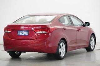 2013 Hyundai Elantra MD2 Elite YR7 : Brilliant Red, Mica Pain 6 Speed Sports Automatic Sedan