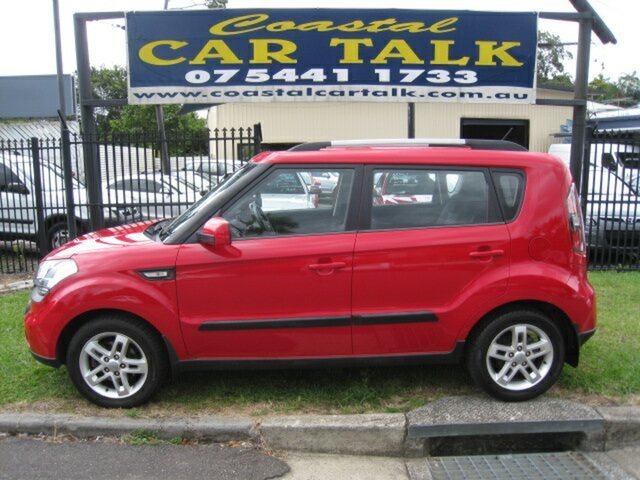 Used Kia Soul AM MY11 + Nambour, 2011 Kia Soul AM MY11 + Red 5 Speed Manual Hatchback