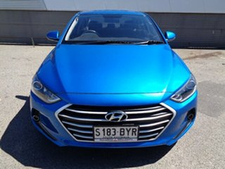 2018 Hyundai Elantra AD MY18 Active Blue 6 Speed Sports Automatic Sedan.