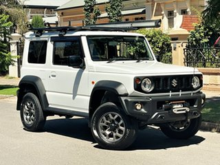 2019 Suzuki Jimny JB74 White 5 Speed Manual Hardtop.