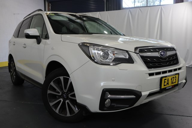 Used Subaru Forester MY17 2.5I-S Castle Hill, 2017 Subaru Forester MY17 2.5I-S White Continuous Variable Wagon