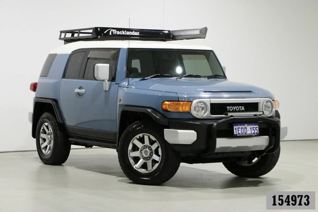 Used Toyota FJ Cruiser GSJ15R MY14 Bentley, 2013 Toyota FJ Cruiser GSJ15R MY14 Blue 5 Speed Automatic Wagon