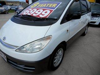 2000 Toyota Tarago ACR30R GLi White 4 Speed Automatic Wagon.