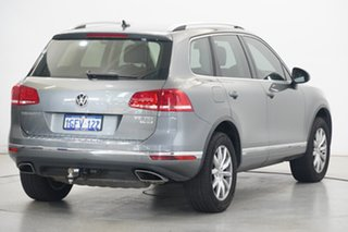 2016 Volkswagen Touareg 7P MY16 150TDI Tiptronic 4MOTION Canyon Grey 8 Speed Sports Automatic Wagon