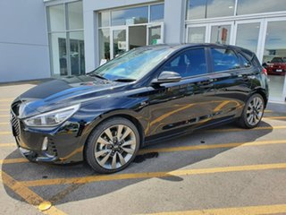 2018 Hyundai i30 PD MY18 SR Black 6 Speed Manual Hatchback.