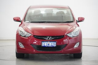 2013 Hyundai Elantra MD2 Elite YR7 : Brilliant Red, Mica Pain 6 Speed Sports Automatic Sedan.