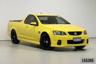 2010 Holden Commodore VE II SV6 Yellow 6 Speed Manual Utility.