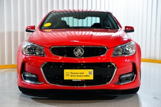 2017 Holden Commodore VF II MY17 SV6 Red/Black 6 Speed Sports Automatic Sedan
