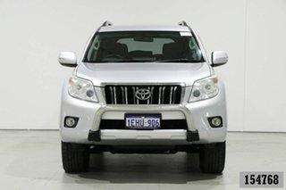 2013 Toyota Landcruiser Prado KDJ150R 11 Upgrade GXL (4x4) Silver 5 Speed Sequential Auto Wagon.