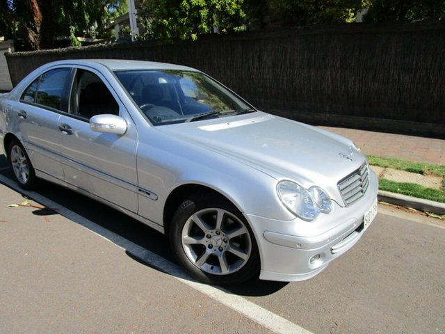Used Mercedes-Benz C180 W203 Upgrade Kompressor Classic Glenelg, 2005 Mercedes-Benz C180 W203 Upgrade Kompressor Classic Silver 5 Speed Auto Tipshift Sedan