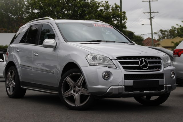 Used Mercedes-Benz M-Class W164 MY10 ML350 Mount Gravatt, 2010 Mercedes-Benz M-Class W164 MY10 ML350 Silver 7 Speed Sports Automatic Wagon