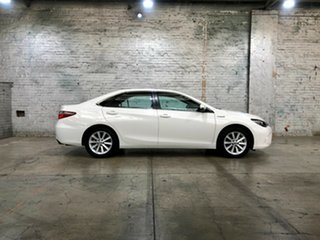 2016 Toyota Camry AVV50R Altise White 1 Speed Constant Variable Sedan Hybrid