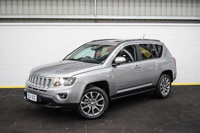 Used Jeep Compass MK MY16 Limited CVT Auto Stick Canning Vale, 2016 Jeep Compass MK MY16 Limited CVT Auto Stick Silver 6 Speed Constant Variable Wagon
