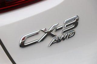 2017 Mazda CX-3 DK4W7A Akari SKYACTIV-Drive i-ACTIV AWD Snowflake White 6 Speed Sports Automatic