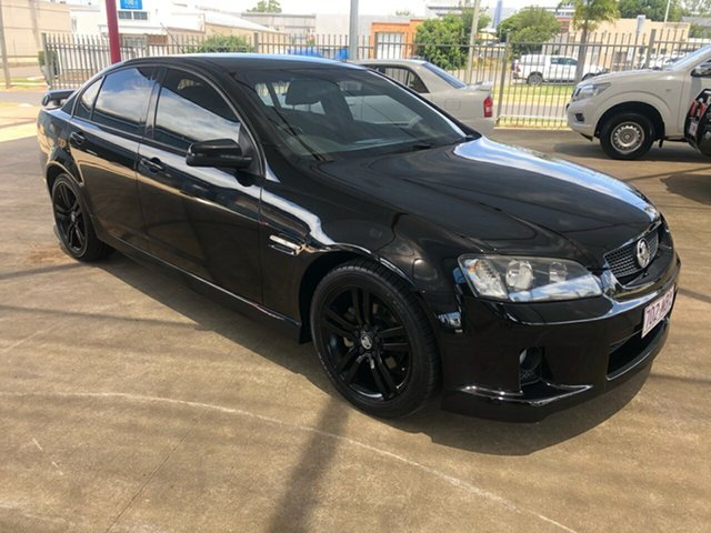 Used Holden Commodore VE SV6 Toowoomba, 2007 Holden Commodore VE SV6 Black 6 Speed Manual Sedan