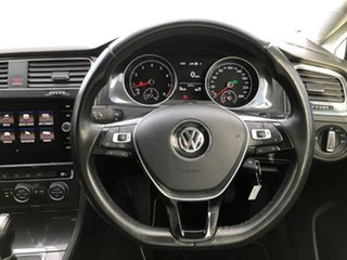 2017 Volkswagen Golf 7.5 MY17 110TSI DSG Comfortline White 7 Speed Sports Automatic Dual Clutch