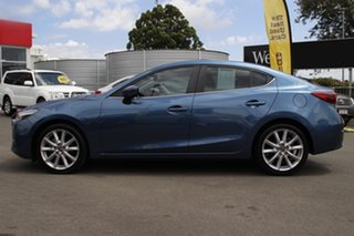 2018 Mazda 3 BN5238 SP25 SKYACTIV-Drive GT Blue 6 Speed Sports Automatic Sedan
