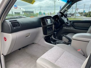 2002 Toyota Landcruiser UZJ100R GXL Silver 5 Speed Automatic Wagon