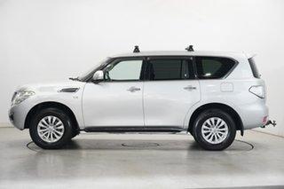 2019 Nissan Patrol Y62 Series 4 TI Silver 7 Speed Sports Automatic Wagon.